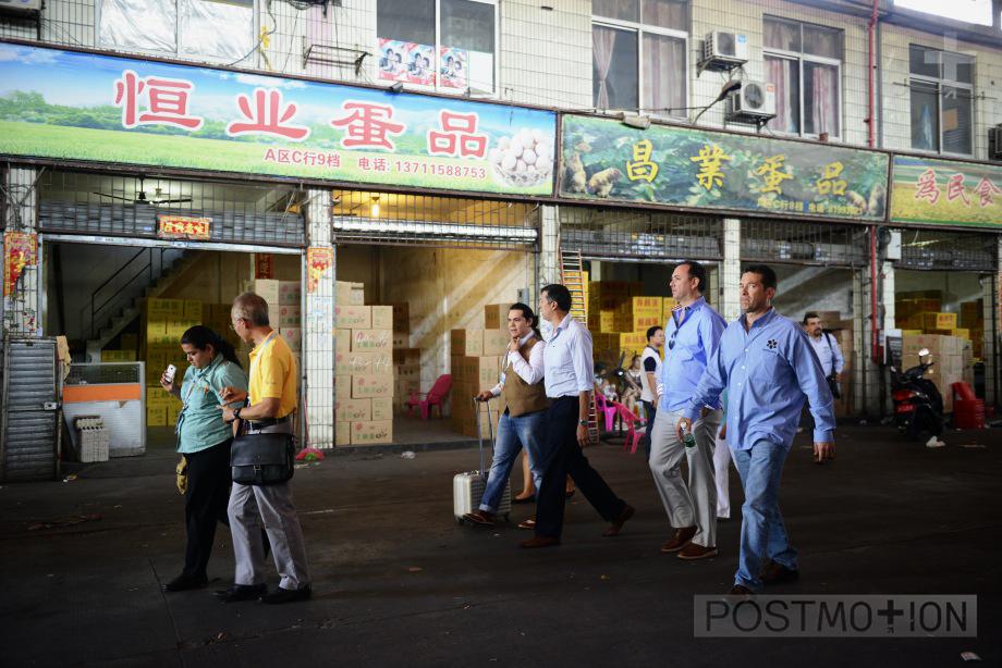 Visitng Guangzhou markets